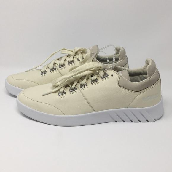 1c89f2aae88 K-Swiss Aero Trainer Sneaker Vanilla Ice White 11s